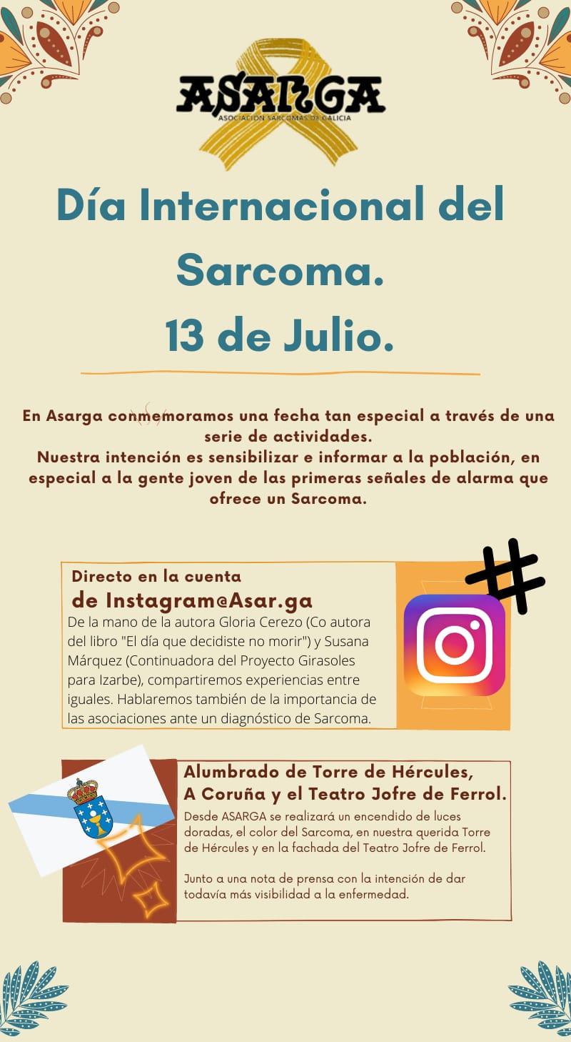 13 de Julio: Día Internacional del Sarcoma